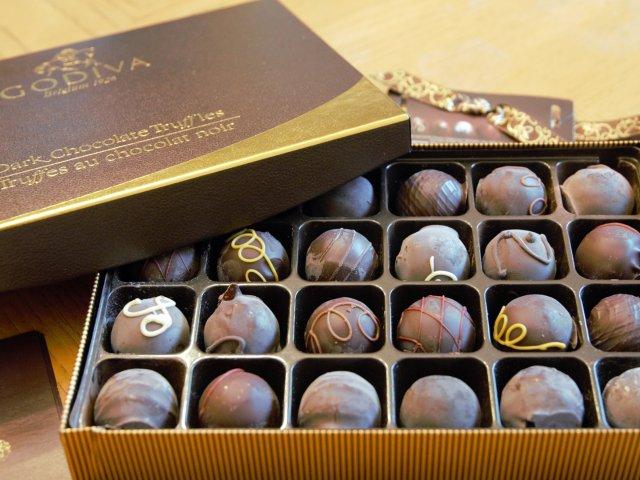 Godiva 黑巧克力松露礼盒装