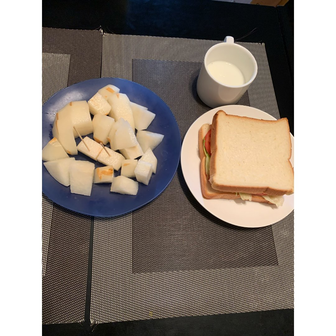 两个人的早餐🥣