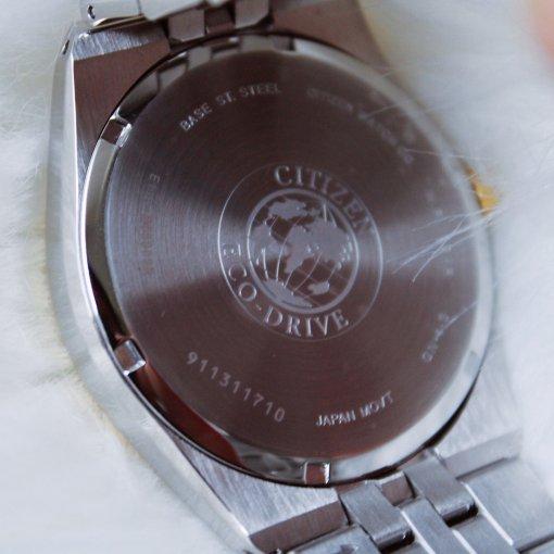 给点阳光就灿烂,西铁城光动能手表