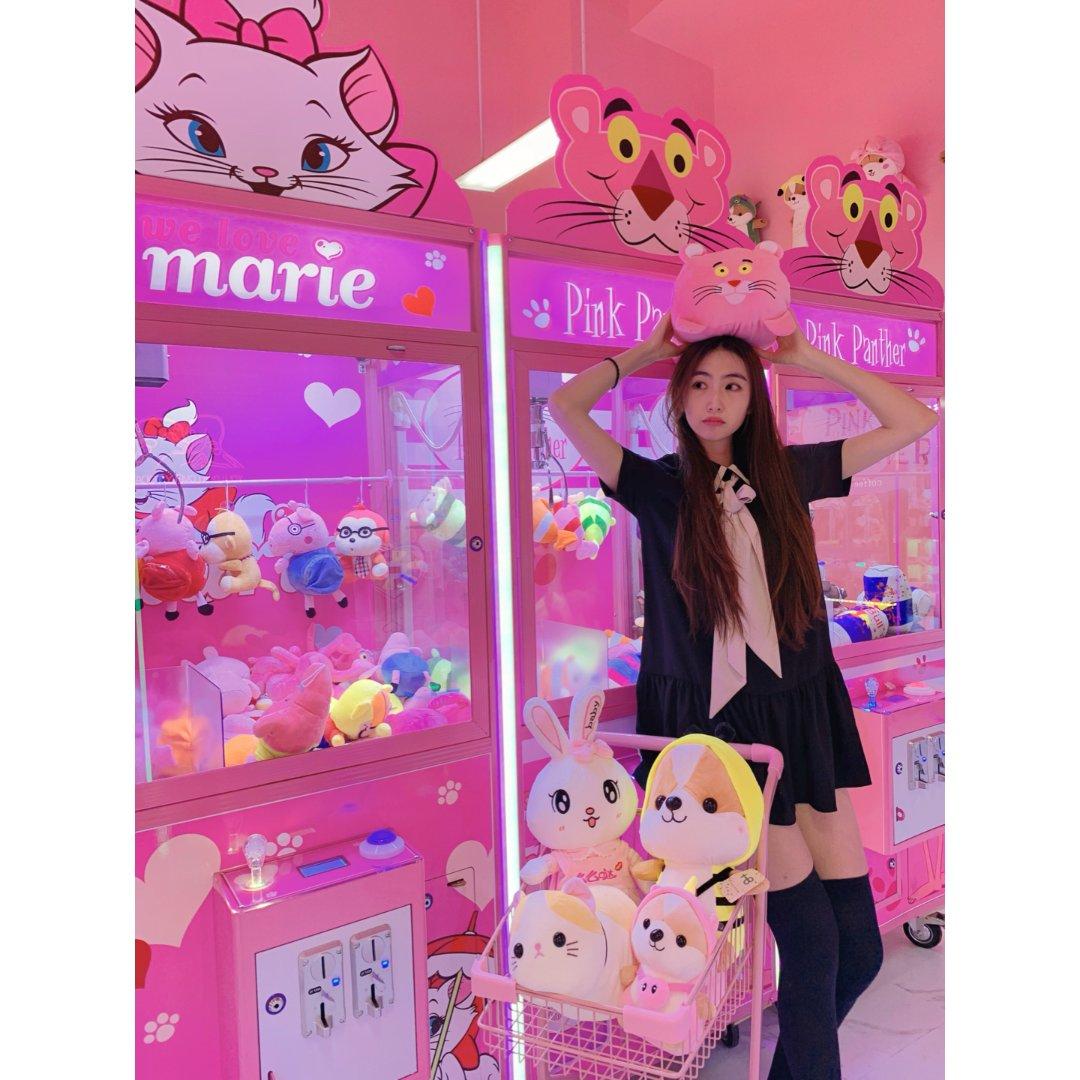 Jing女孩探店 充满粉色恋爱泡泡...