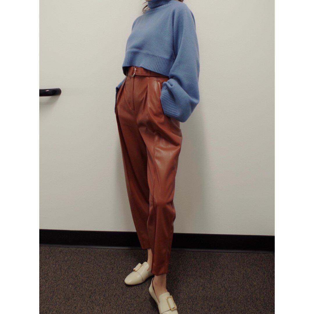 Aritzia Mayne皮裤 | 穿搭