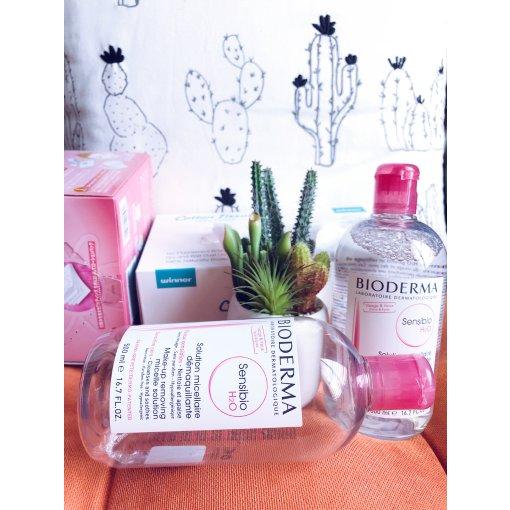 【微众测】Bioderma粉罐卸妆水真是干敏皮的好朋友👭