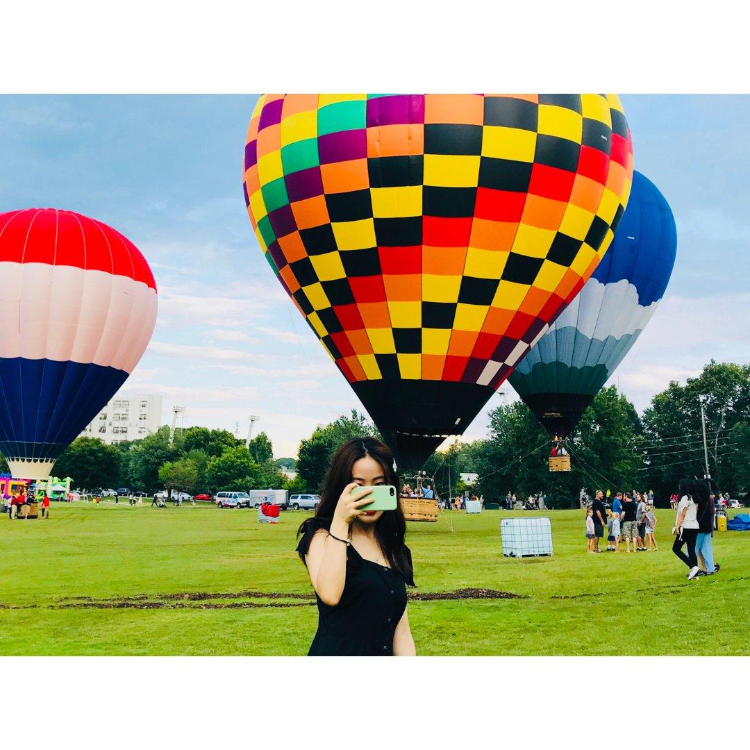 热气球和小黑裙更配呀