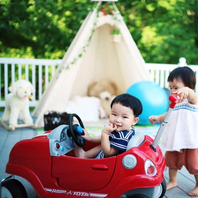想给1岁+的宝宝选一辆推车,在电动...