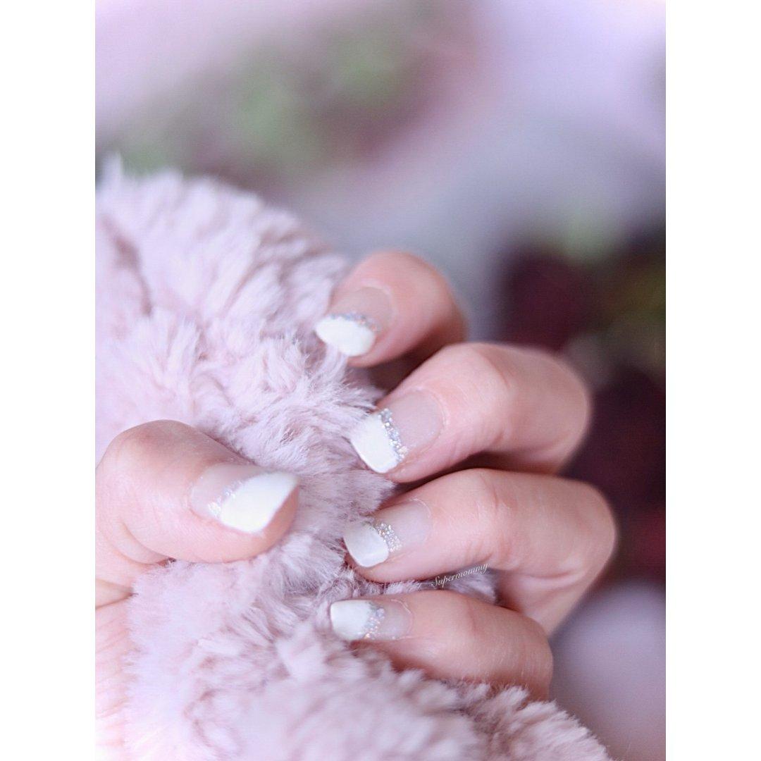 🌹DIY白色美甲来纪念【我们的初恋】🌹