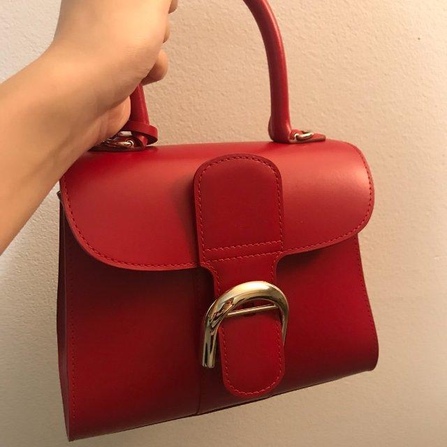 🤭第一次买这么鲜艳的包<br />...