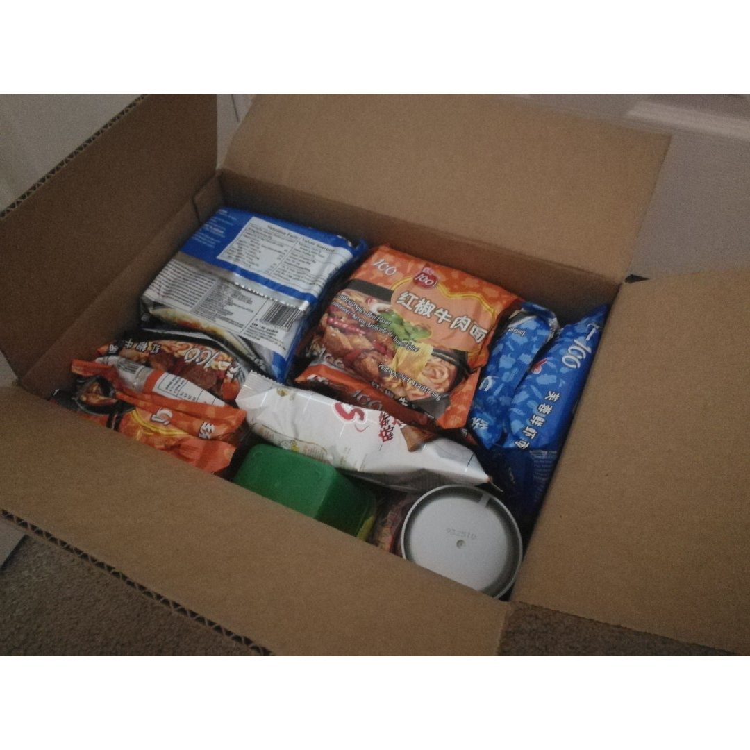 亚米零食箱