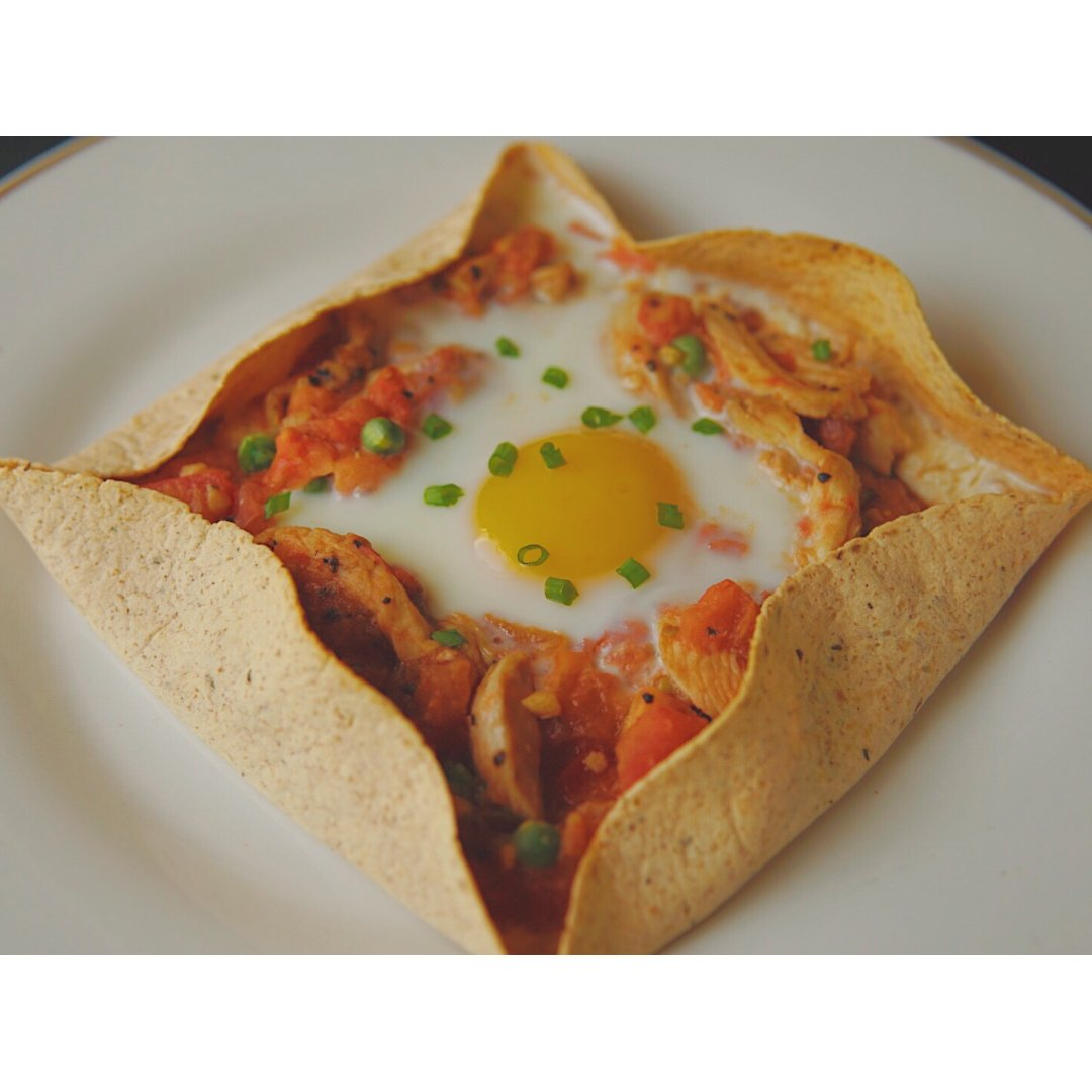 | 一人食 | 健康早餐·北非蛋可丽饼