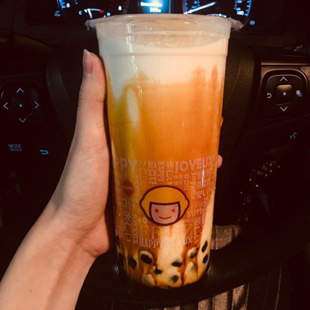 Happy Lemon 奶茶