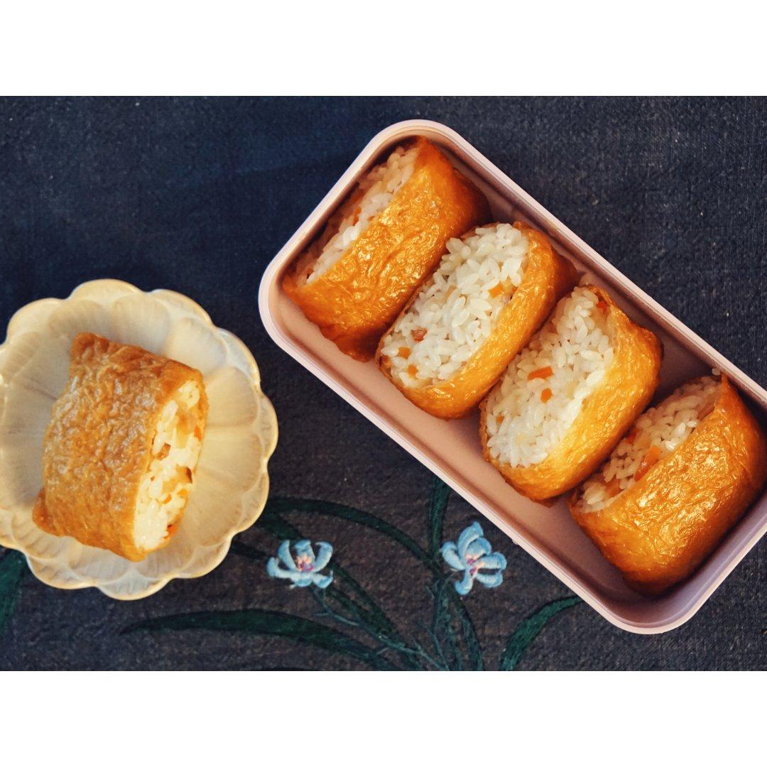 懒人食谱分享 好吃又方便的稻荷寿司~