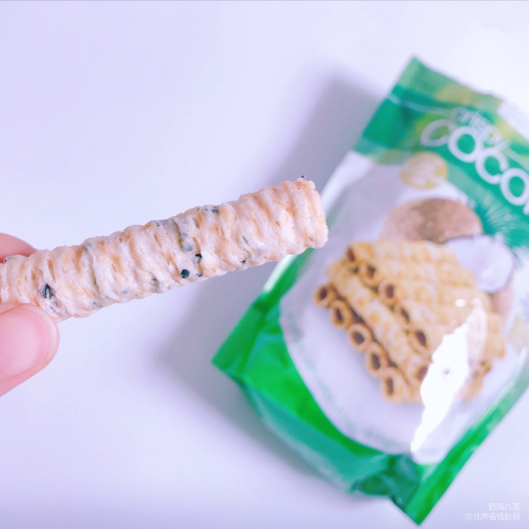 零食不能停—超好次的椰奶卷