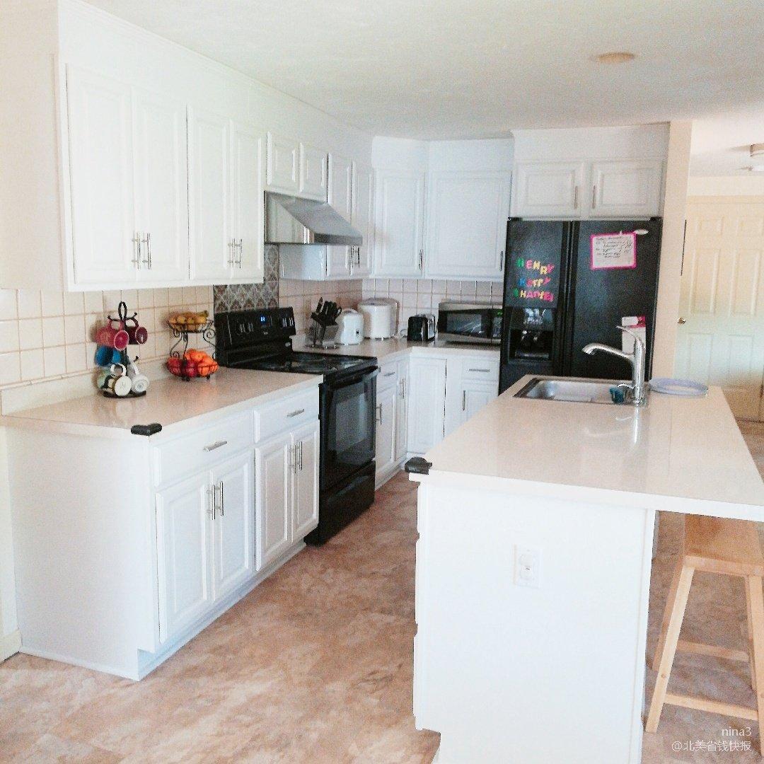 厨房改造,家居一角