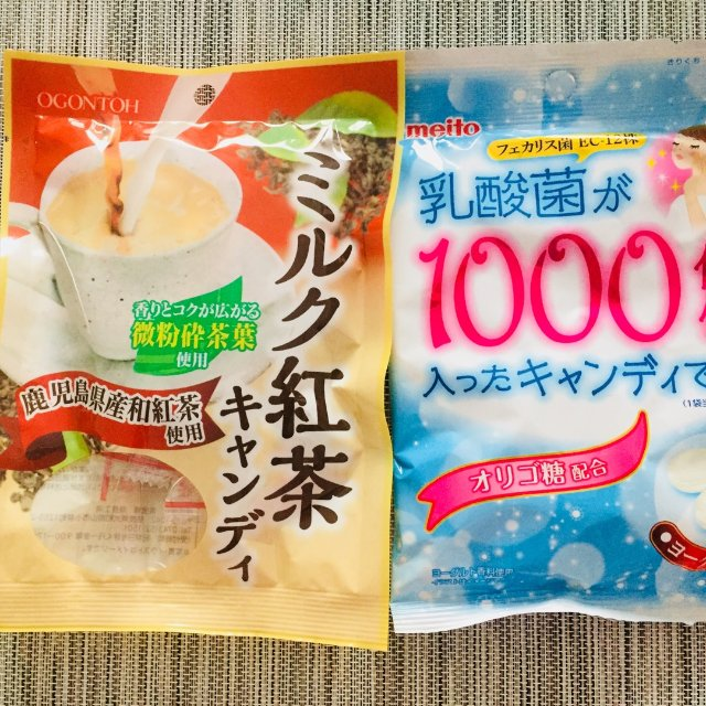 好多品种的日本糖果,都是$1.00