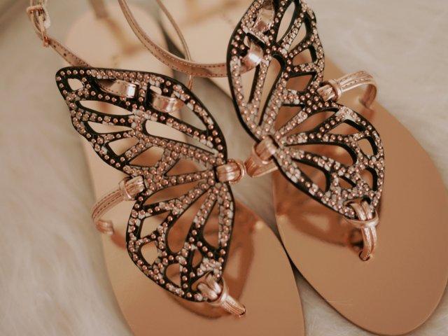 【最美蝴蝶凉鞋你一定要有】