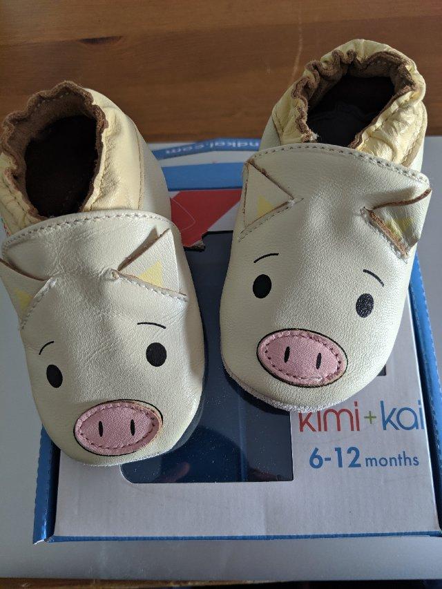 孕期囤货之猪宝宝的猪猪鞋