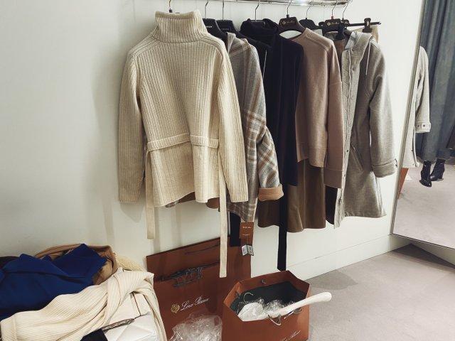 loropiana羊绒更衣室