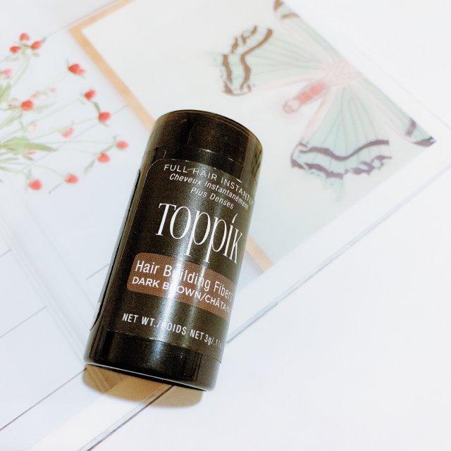 Toppik增发纤维解决头发稀疏的问题