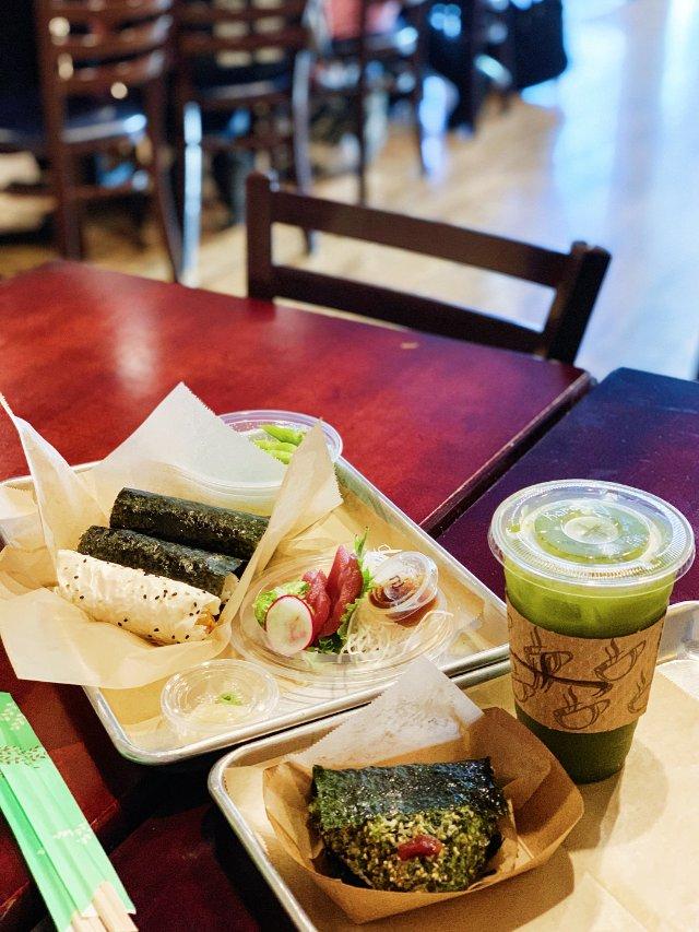 中了日式飯糰手卷的毒😜住在洛杉磯的...
