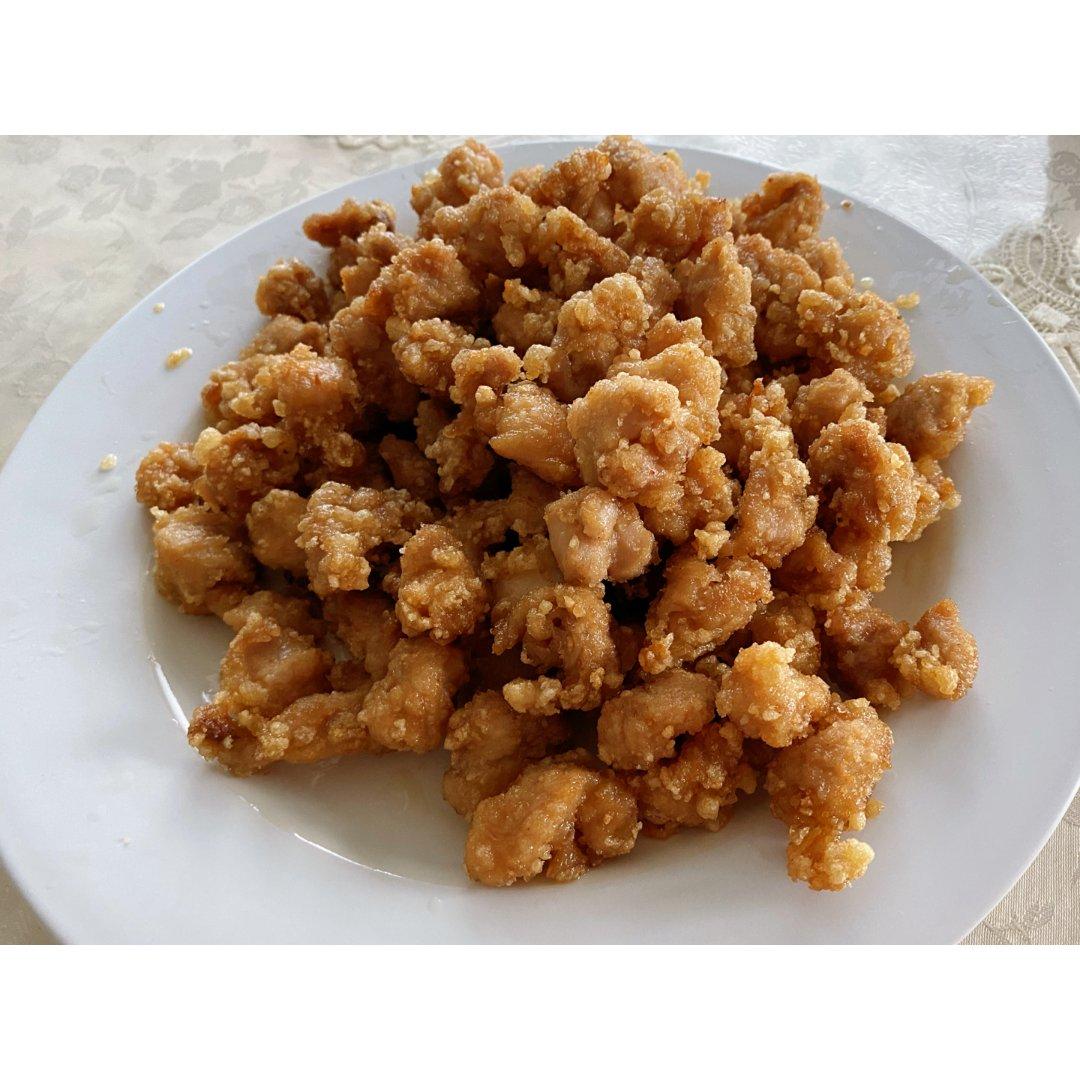 盐酥鸡与麻辣香锅