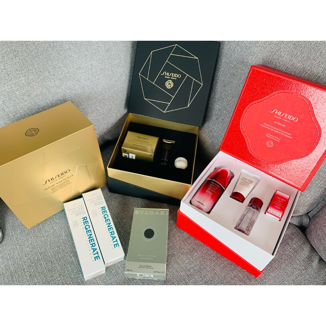 Shiseido 资生堂,宝格丽大吉岭茶,Regenerate