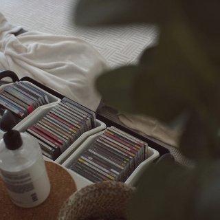 CD收纳 | ikea收纳盒+Targe...