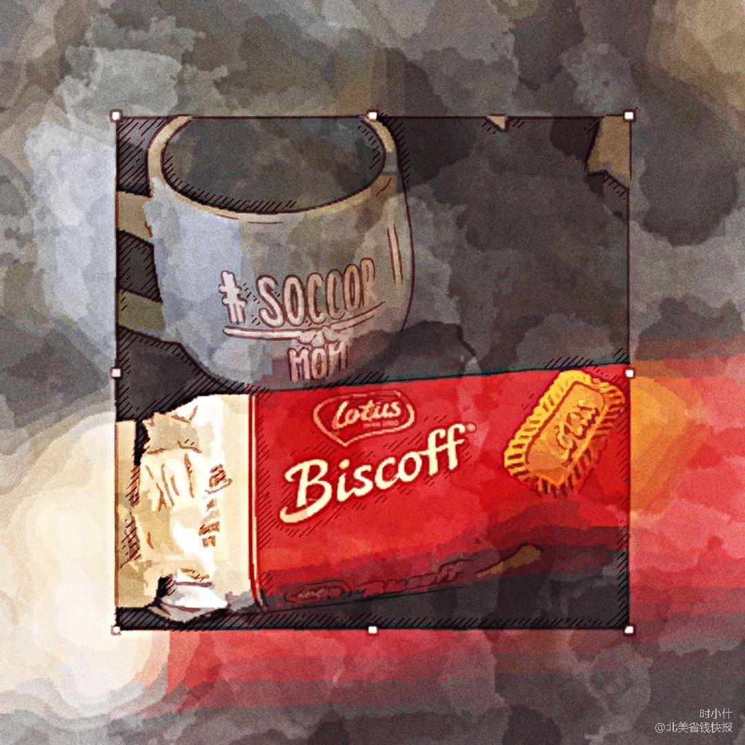 Costco焦糖味饼干