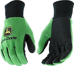 $3.76John Deere JD00002 Knit Polyester/Cotton All Purpose Work Gloves with Dotted Palms @ Amazon.com