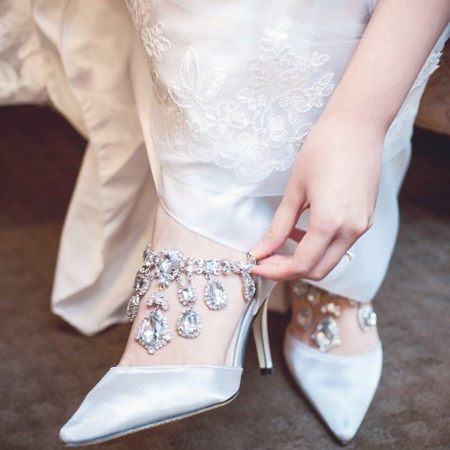 七天美鞋打卡系列之水晶婚鞋