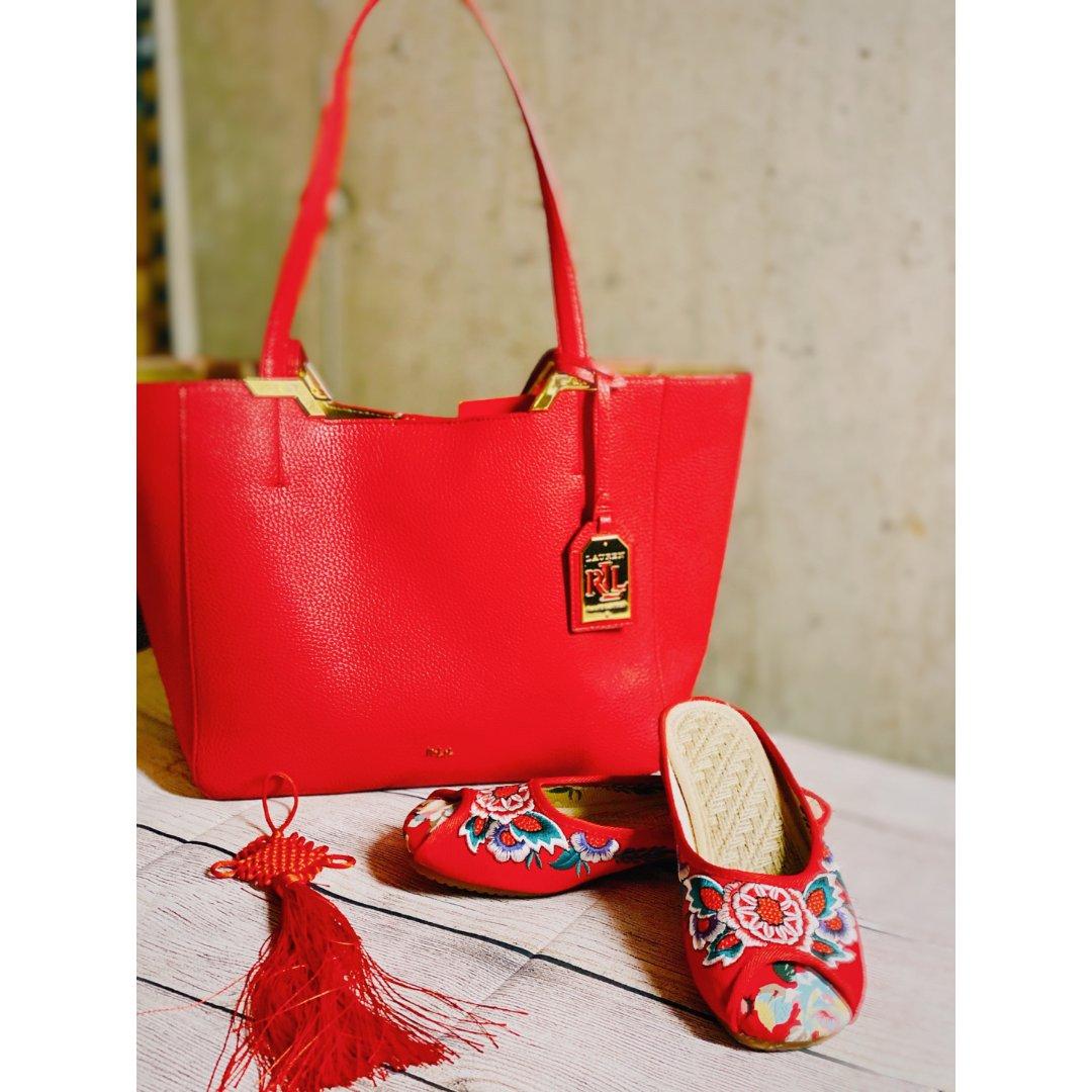 包包鞋子一个色3⃣️:喜气洋洋中国...