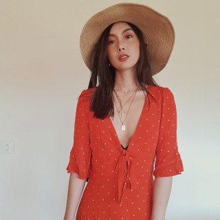 春日Outfits try on hau...