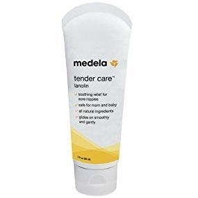 $6Medela Lanolin Nipplecream for Breastfeeding, All Natural Nipple Cream, Tender Care Lanolin, 2 Ounce Tube @ Amazon