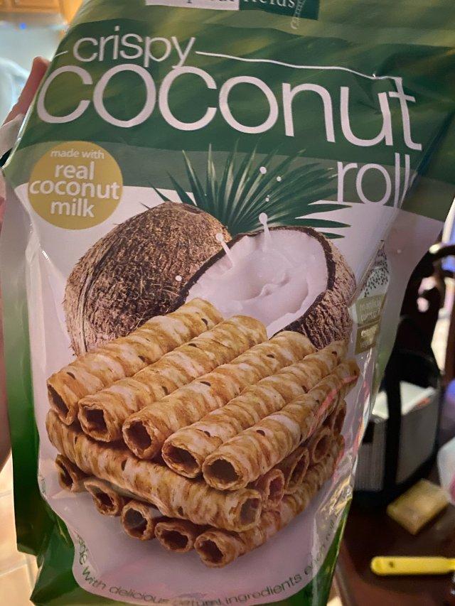吹爆很多次的椰子卷