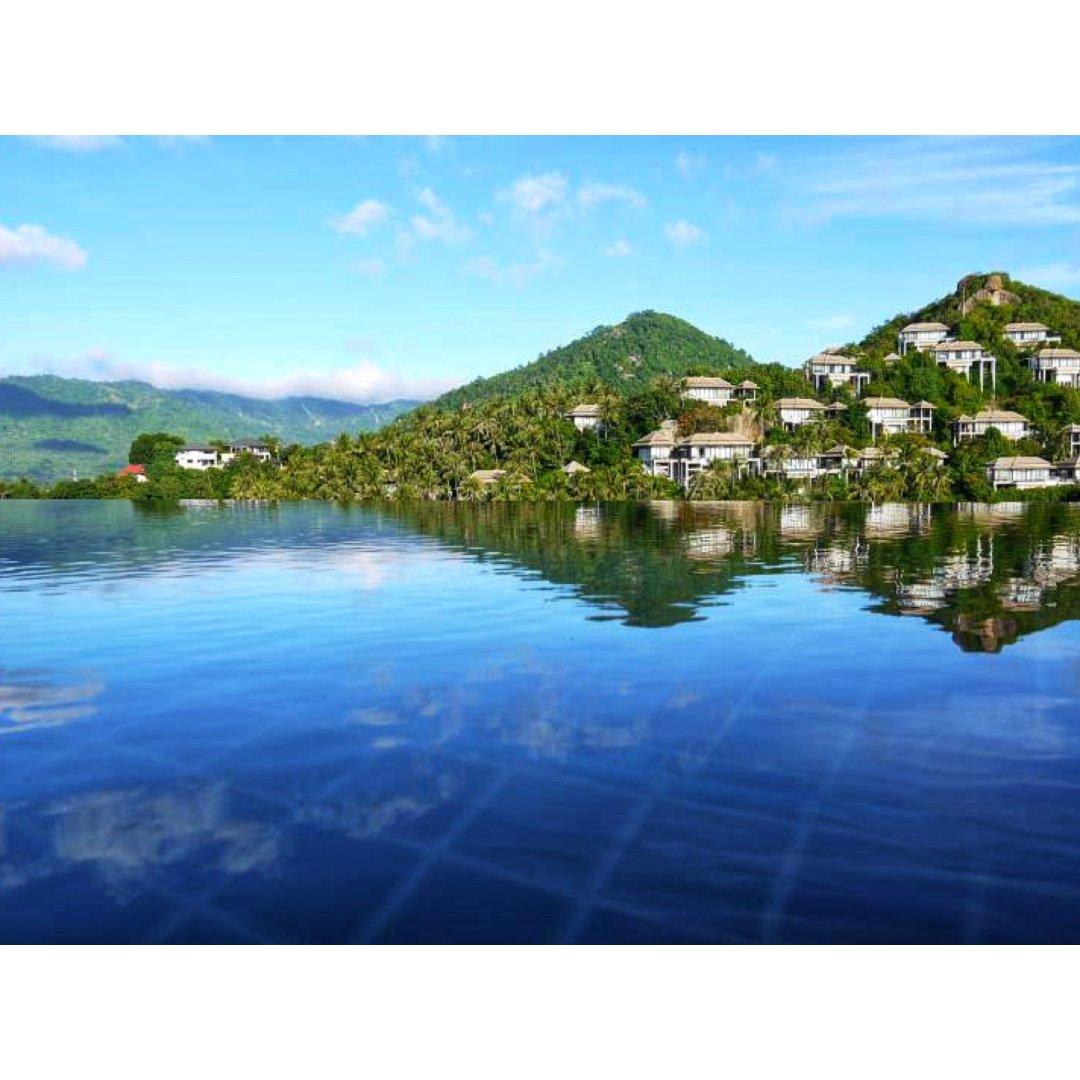 【泰国湾苏梅】无边际私人泳池的悦榕庄