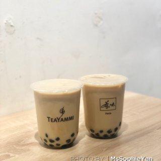巴黎美食|巴黎最好喝的奶茶TeaYamm...
