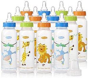 $13.98 (原价$23.51)Evenflo 卡通动物图案婴幼儿奶瓶 8oz,12个