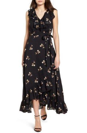 BP. Ruffle Wrap Maxi Dress | Nordstrom