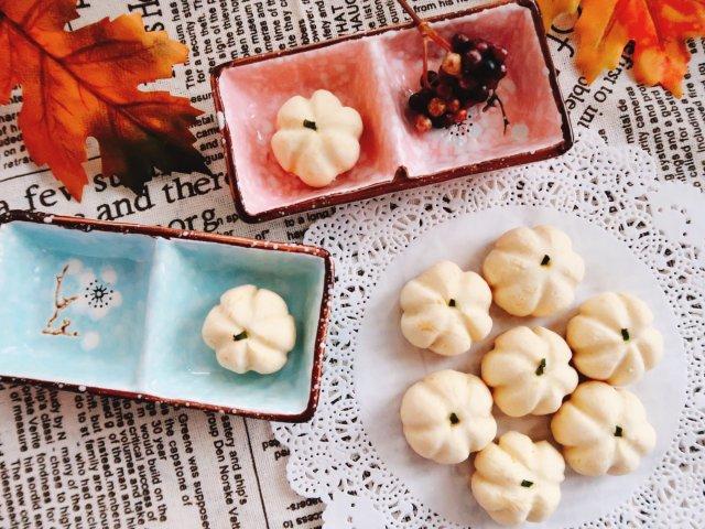 万圣节小甜品-迷你南瓜黄油饼干