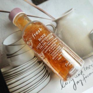 护肤水|Fresh 玫瑰水使用感受:🉑️...