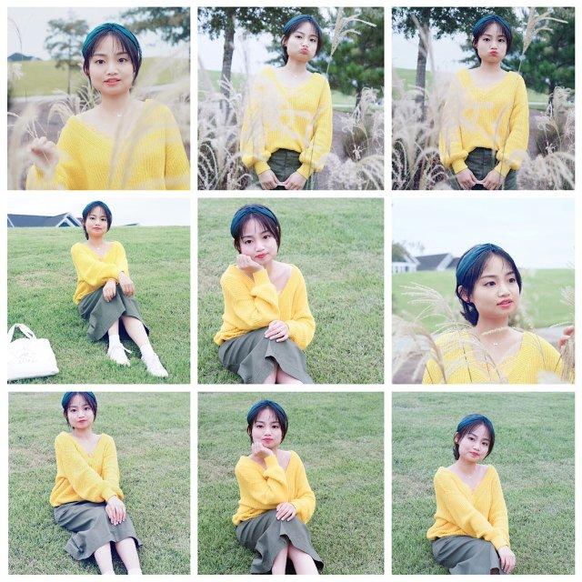 周末LooK|秋天清新的一抹黄