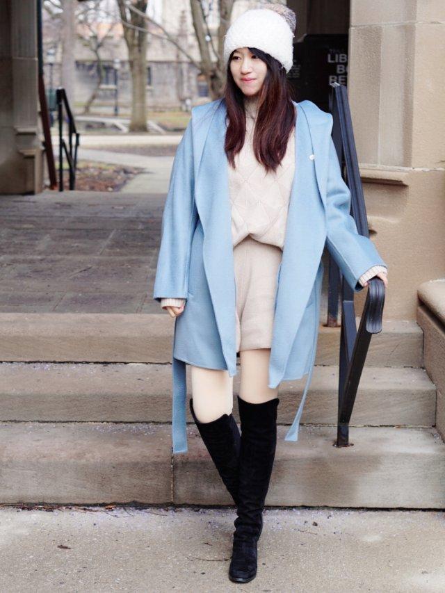 我宣布我觉得这款大衣亚洲女生必须要...