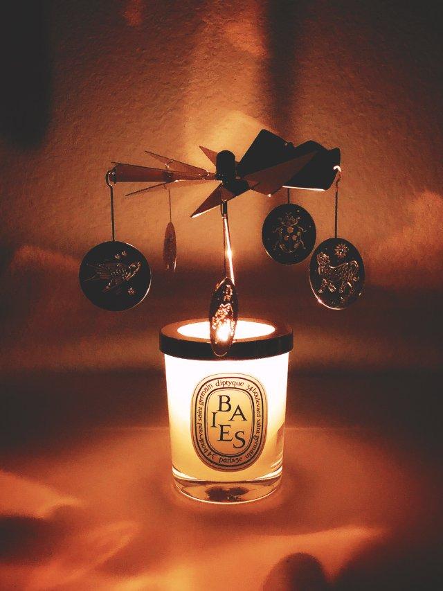 看图😘Diptyque圣诞限量走马灯蜡烛