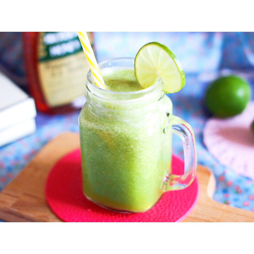 自制消暑减脂蜂蜜青柠黄瓜汁 | 喝...
