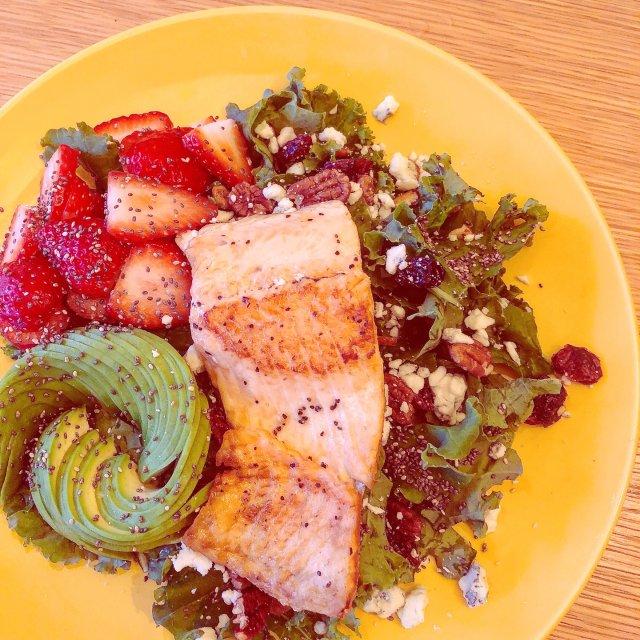 超简单又健康的沙拉🥗   冬天也要...