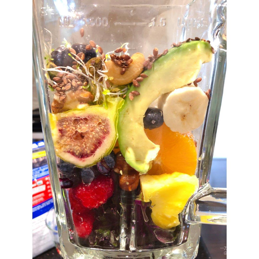 每天一杯健康满满的蔬果饮
