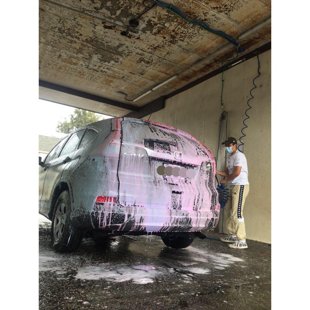 快乐的洗车工💦