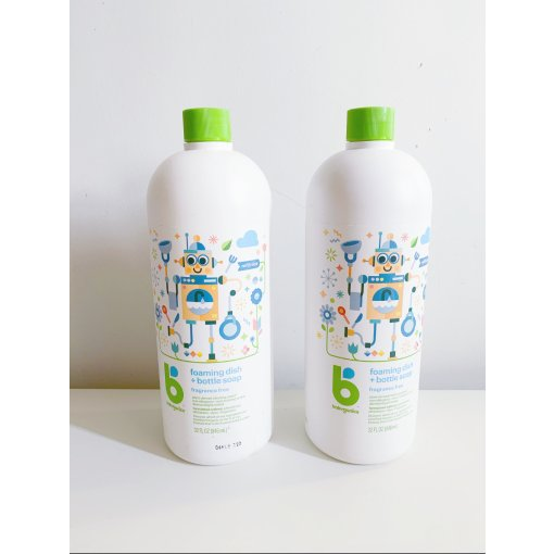儿童用品|Babyganics 儿童奶瓶碗碟泡沫清洁液