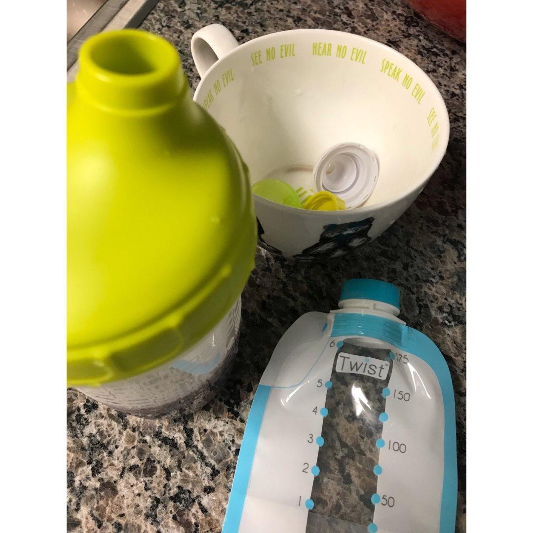 泵奶時期到長大了都可以用的奶袋。