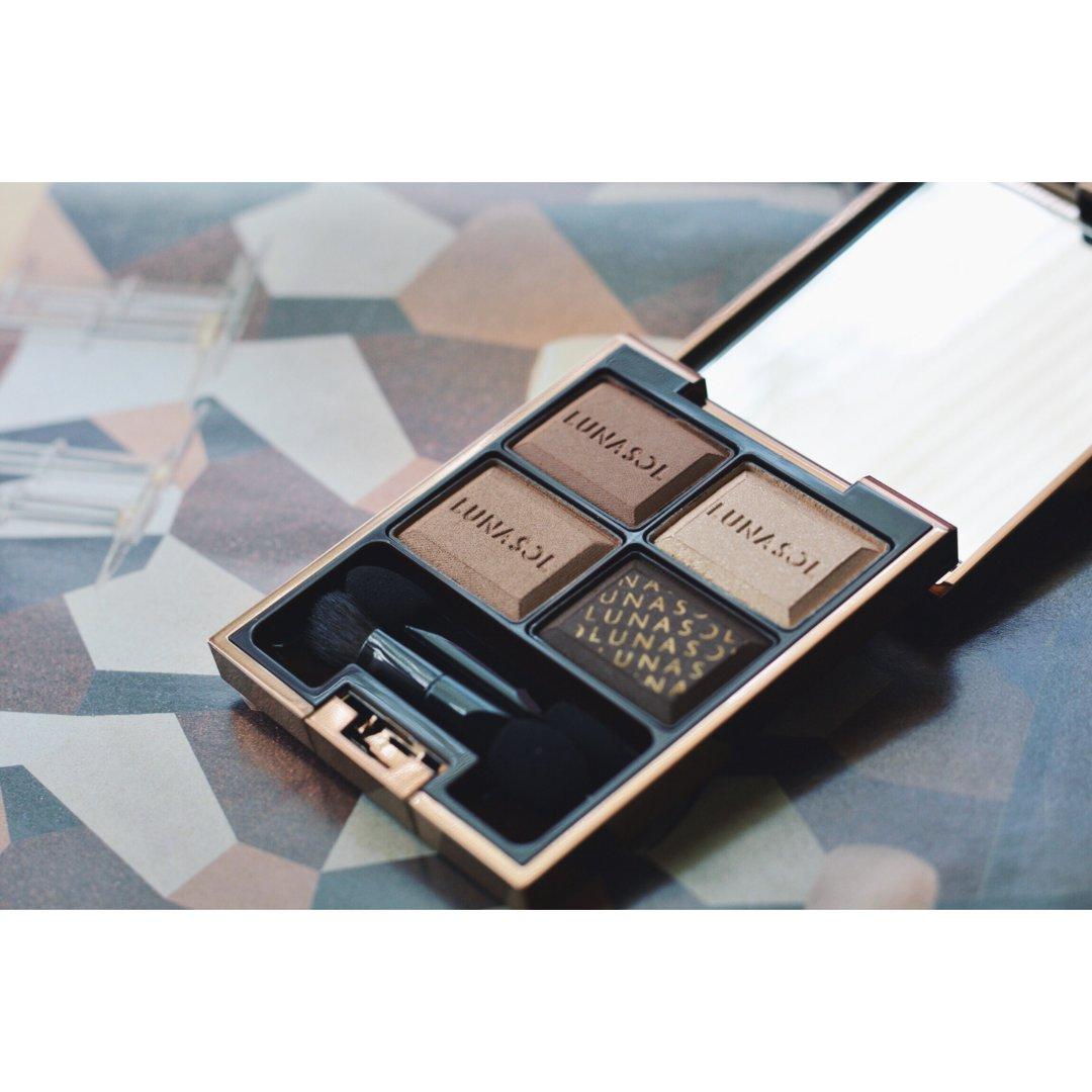美妆品分享—Lunasol巧克力盘02号