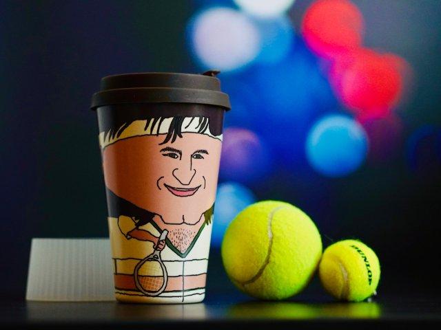 网球粉独特礼物 | 费德勒环保随身杯♻️