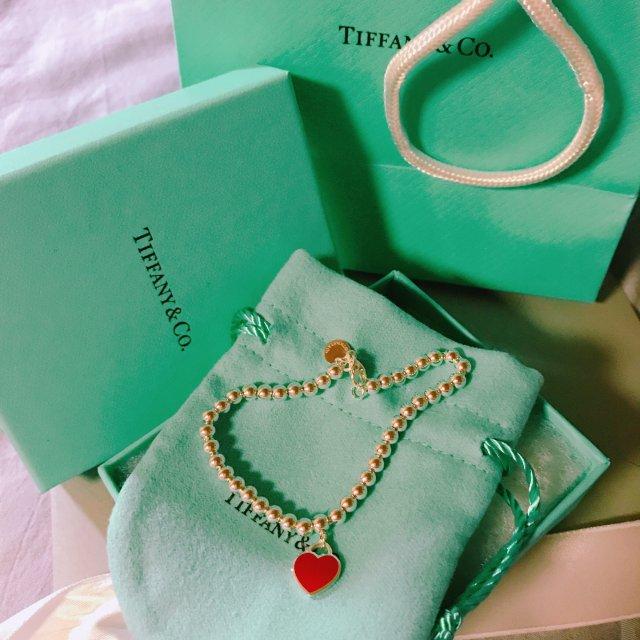 Tiffany爱心手链